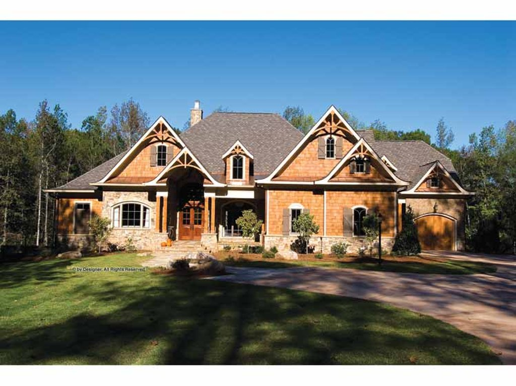 Craftsman style house plan 4 beds 4 5 baths 5099 sq ft for Craftsman vs mission style