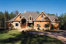 Architectural House Design - Craftsman Exterior - Front Elevation Plan #54-362