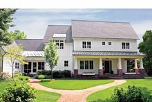 Colonial Exterior - Front Elevation Plan #928-97