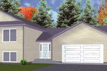 Home Plan - Traditional Exterior - Front Elevation Plan #980-2