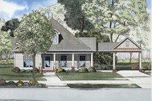 Home Plan - Bungalow Exterior - Front Elevation Plan #17-2865