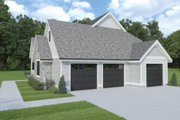 Cottage Style House Plan - 3 Beds 3.5 Baths 2856 Sq/Ft Plan #1070-107 Exterior - Other Elevation