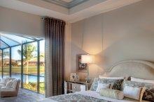 Mediterranean Interior - Master Bedroom Plan #930-448