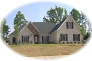 European Style House Plan - 4 Beds 3 Baths 2584 Sq/Ft Plan #81-1570 Exterior - Front Elevation