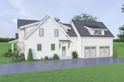 Farmhouse Style House Plan - 4 Beds 3.5 Baths 2527 Sq/Ft Plan #1070-42 Exterior - Other Elevation