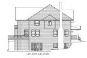 Country Style House Plan - 3 Beds 3.5 Baths 3062 Sq/Ft Plan #117-878 Exterior - Other Elevation