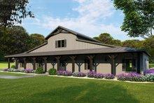 Farmhouse Exterior - Front Elevation Plan #923-114