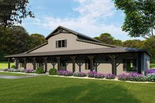 Home Plan - Farmhouse Exterior - Front Elevation Plan #923-114