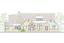 House Plan Design - Contemporary Exterior - Front Elevation Plan #80-186