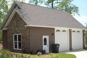 Traditional Style House Plan - 0 Beds 1 Baths 954 Sq/Ft Plan #63-334 Exterior - Front Elevation