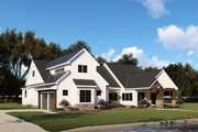 Country Style House Plan - 3 Beds 2.5 Baths 2073 Sq/Ft Plan #923-130 Exterior - Other Elevation