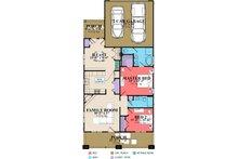 Craftsman Floor Plan - Main Floor Plan Plan #63-272