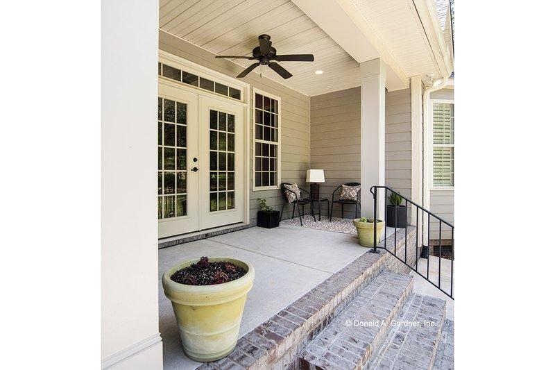 Country Exterior - Outdoor Living Plan #929-610 - Houseplans.com