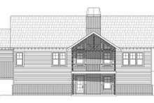 House Plan Design - Ranch Exterior - Rear Elevation Plan #932-353