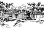 Bungalow Style House Plan - 3 Beds 2 Baths 1985 Sq/Ft Plan #60-397