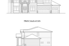 House Design - Traditional Exterior - Other Elevation Plan #1066-70