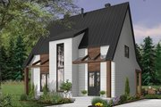 Modern Style House Plan - 3 Beds 2.5 Baths 1824 Sq/Ft Plan #23-2682
