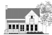 Farmhouse Style House Plan - 1 Beds 1 Baths 1494 Sq/Ft Plan #430-177 Exterior - Rear Elevation
