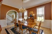 Classical Style House Plan - 4 Beds 3 Baths 3353 Sq/Ft Plan #137-124 Interior - Dining Room