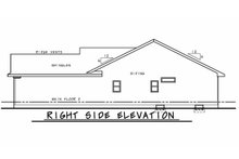 Home Plan - Craftsman Exterior - Other Elevation Plan #20-2334