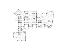 Traditional Floor Plan - Main Floor Plan Plan #928-247