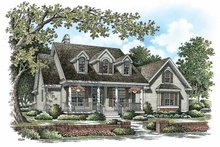 Home Plan - Country Exterior - Front Elevation Plan #929-885