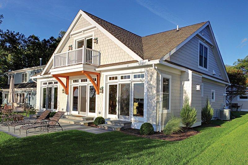 Country Exterior - Rear Elevation Plan #1010-106 - Houseplans.com