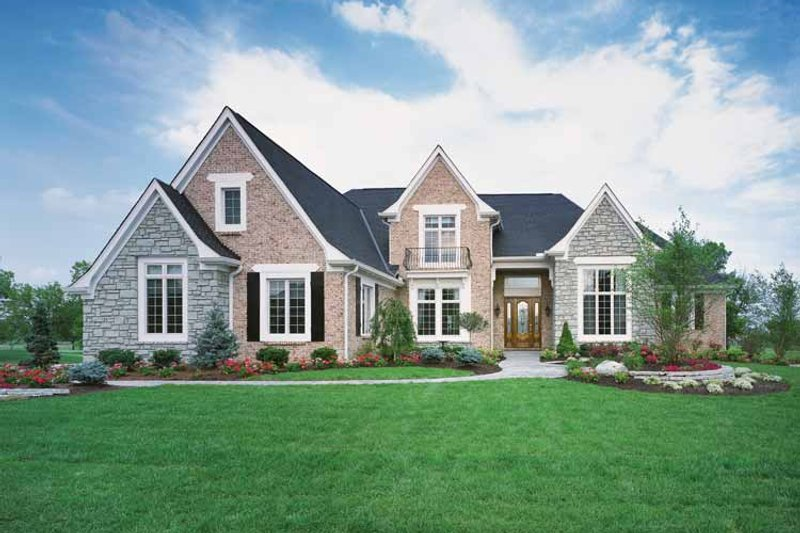 Country Exterior - Front Elevation Plan #46-686 - Houseplans.com
