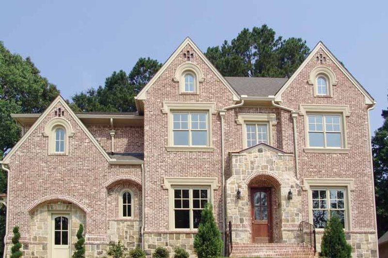 Traditional Exterior - Front Elevation Plan #54-358 - Houseplans.com