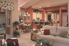 House Plan Design - Mediterranean Interior - Kitchen Plan #417-746