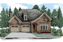 House Plan Design - European Exterior - Front Elevation Plan #927-513
