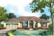 Dream House Plan - Contemporary Exterior - Front Elevation Plan #1015-7