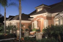 Mediterranean Exterior - Front Elevation Plan #417-746