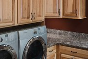 Log Style House Plan - 5 Beds 4.5 Baths 5140 Sq/Ft Plan #928-263