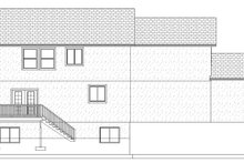 Traditional Exterior - Rear Elevation Plan #1060-15