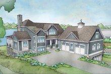 Cottage Exterior - Front Elevation Plan #928-319