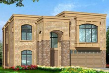 Architectural House Design - Contemporary Exterior - Front Elevation Plan #132-429