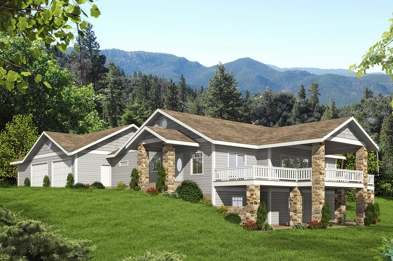 House Plan Design - Craftsman Exterior - Front Elevation Plan #117-883