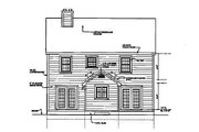 Country Style House Plan - 4 Beds 2.5 Baths 1846 Sq/Ft Plan #3-152