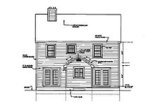 Country Exterior - Other Elevation Plan #3-152