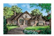 Cottage Style House Plan - 3 Beds 3 Baths 3202 Sq/Ft Plan #929-854 Exterior - Front Elevation