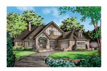 House Plan Design - Cottage Exterior - Front Elevation Plan #929-854