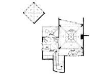 Craftsman Floor Plan - Upper Floor Plan Plan #942-11