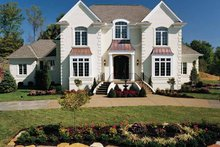 Traditional Exterior - Front Elevation Plan #46-567