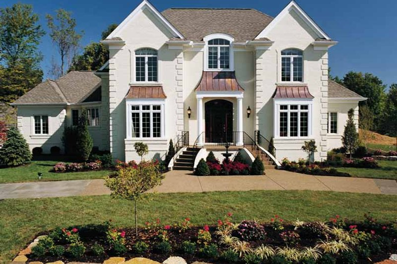 Traditional Exterior - Front Elevation Plan #46-567 - Houseplans.com