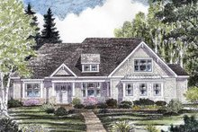 Craftsman Exterior - Front Elevation Plan #316-271
