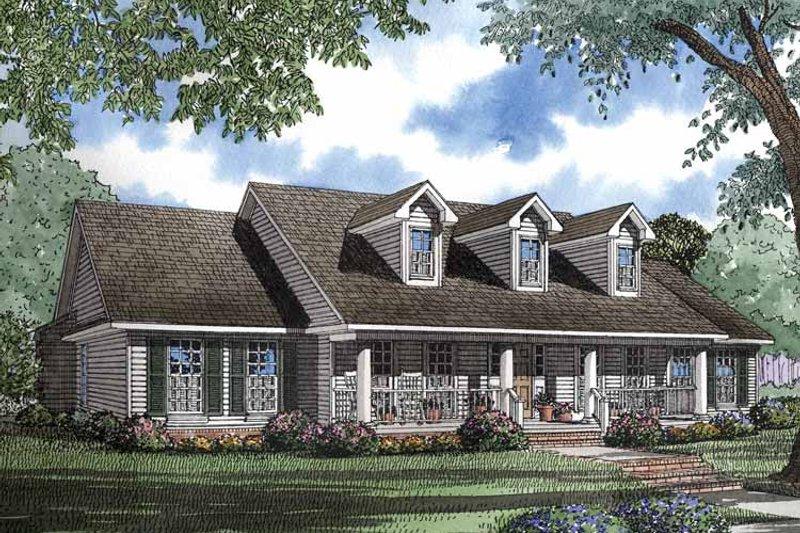 Classical Exterior - Front Elevation Plan #17-2898 - Houseplans.com