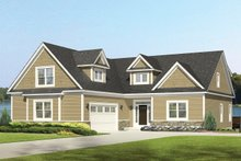 Home Plan - Colonial Exterior - Front Elevation Plan #1010-109