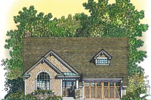 Dream House Plan - Craftsman Exterior - Front Elevation Plan #1016-107