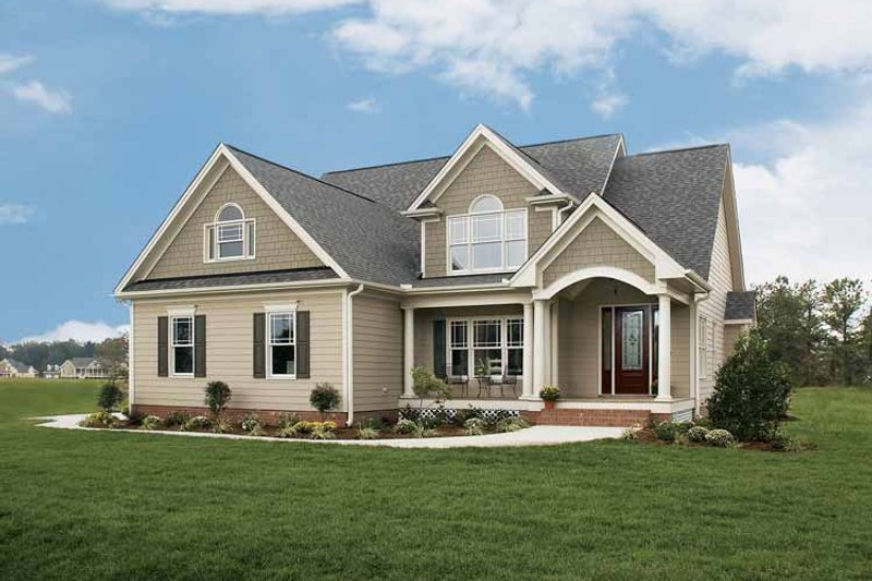 Dream House Plan - Country Exterior - Front Elevation Plan #929-697